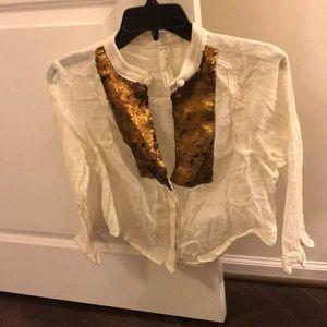 Free people New Romantics blouse
